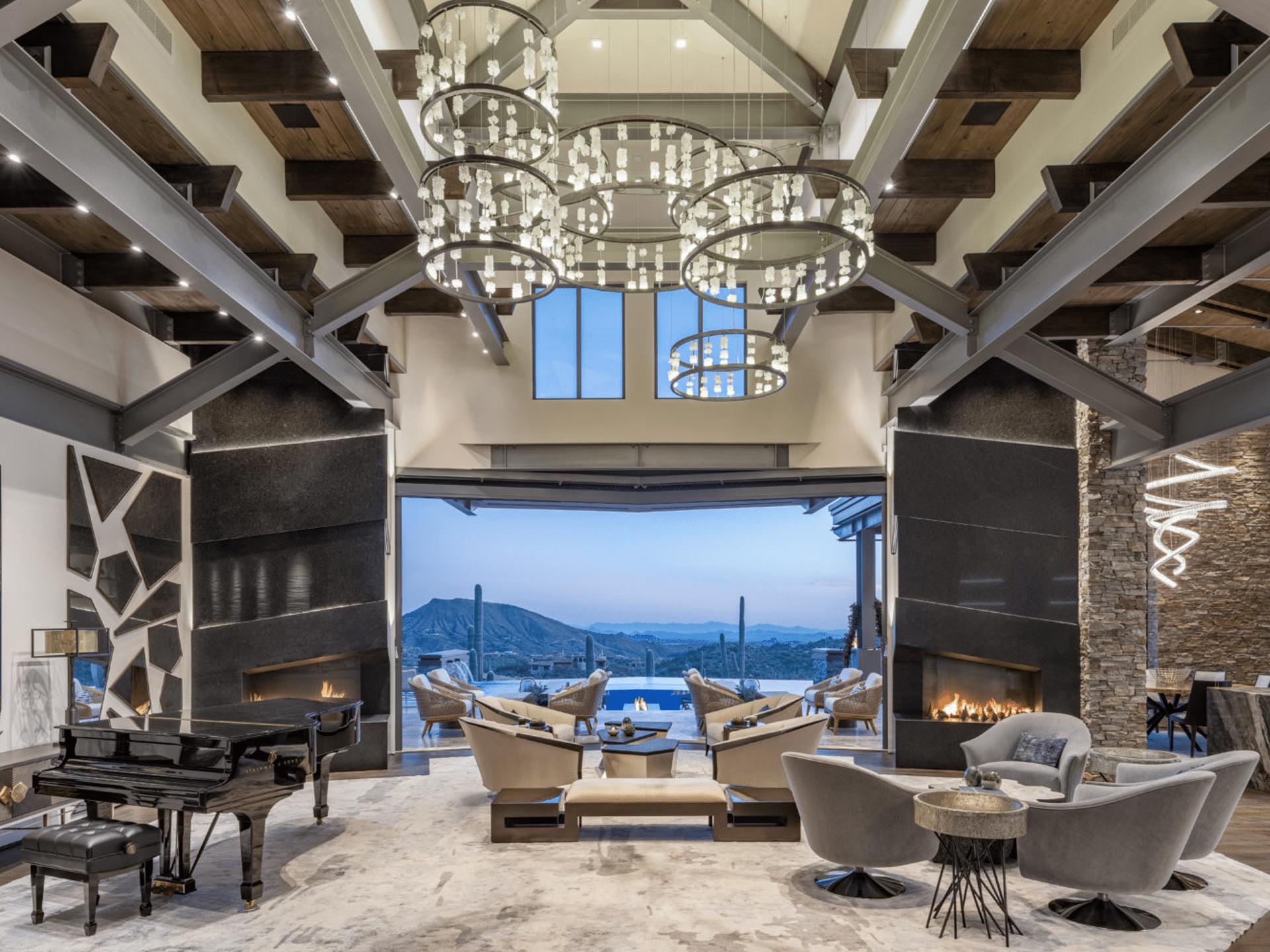 A Desert Mountain Contemporary Home