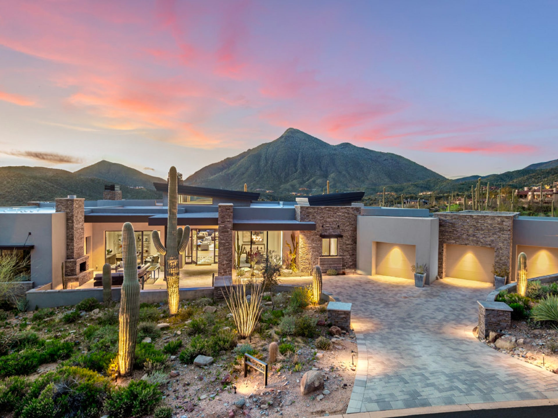 Elevated Desert Mountain Home